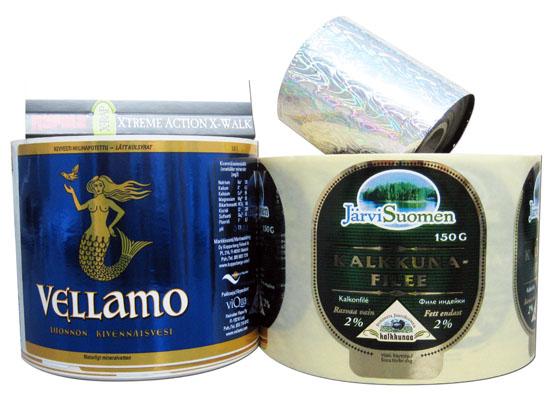 Foliopainetut tuotteet